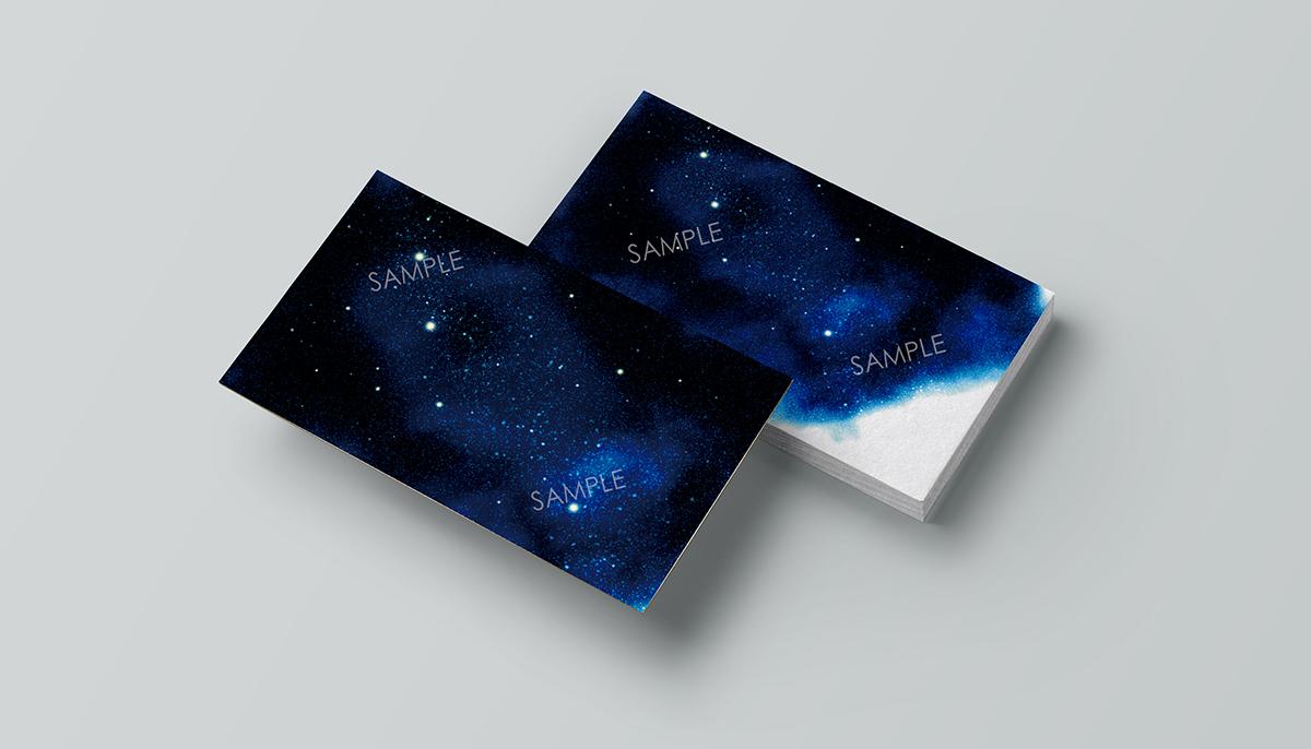 星空カード