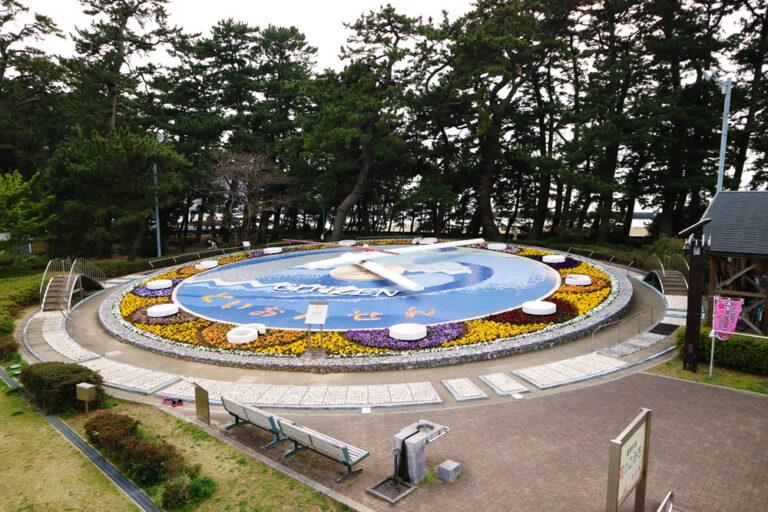 世界一の花時計 松原公園花時計