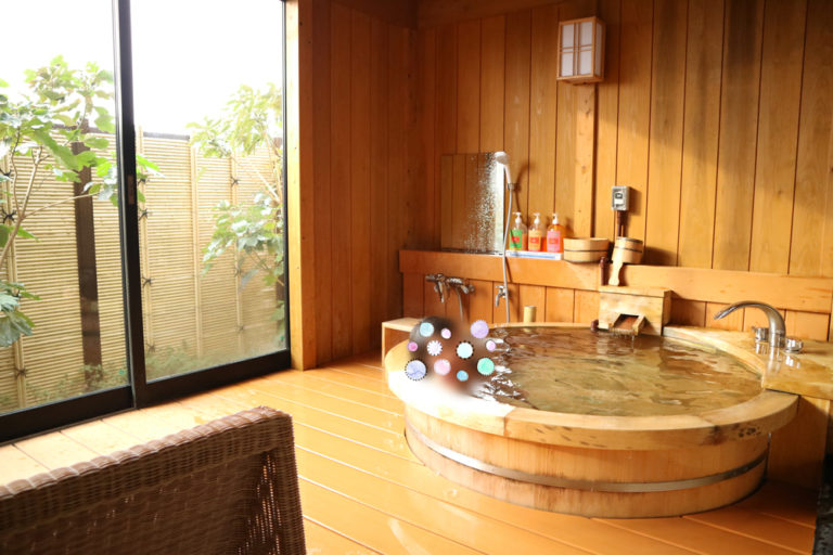 土肥ふじやホテル 露天風呂付き客室