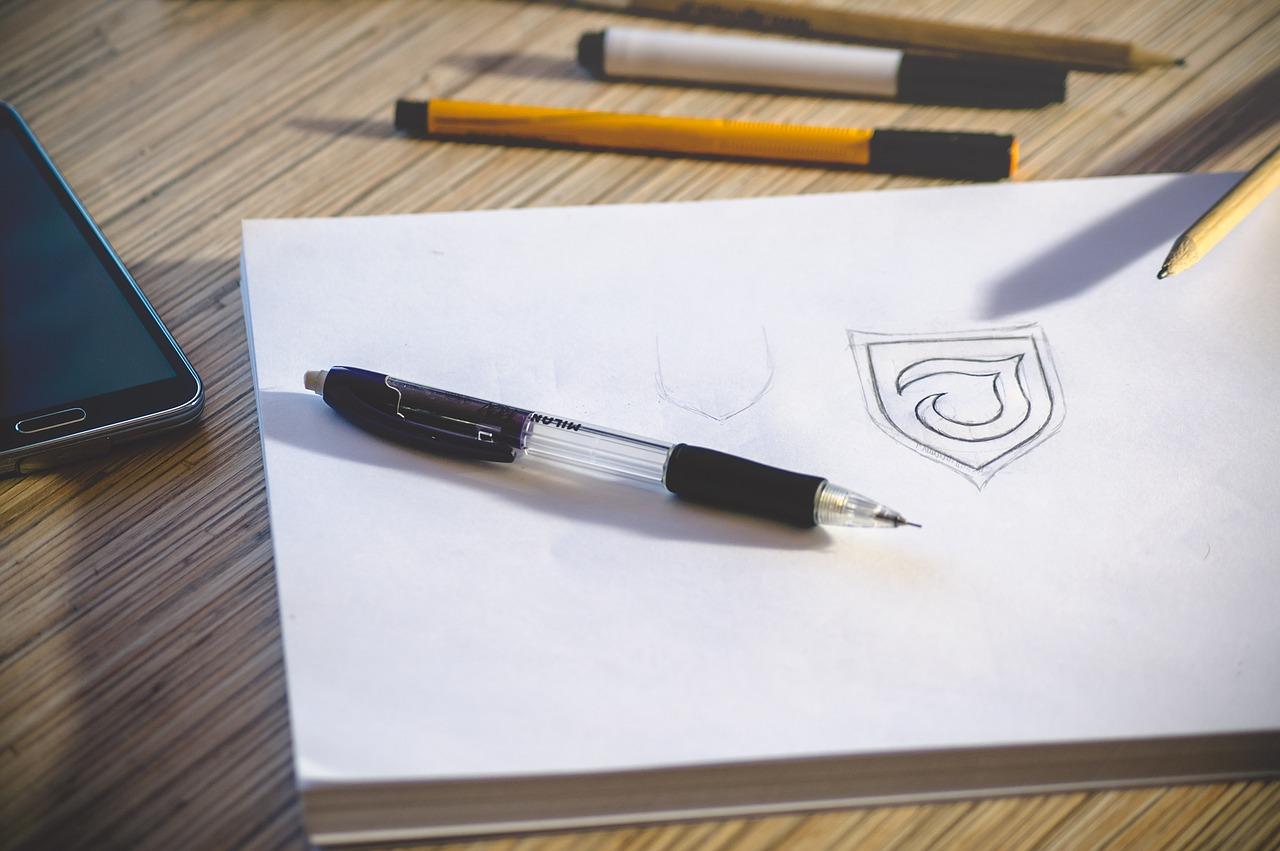 デザイン作業