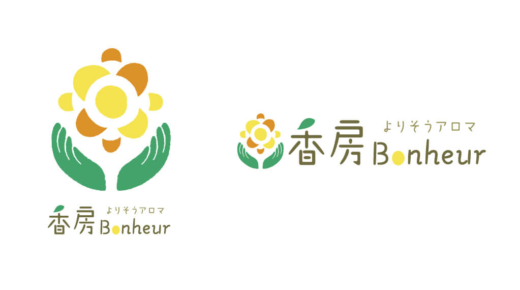 香房Bonheur(ボヌール)様ロゴ
